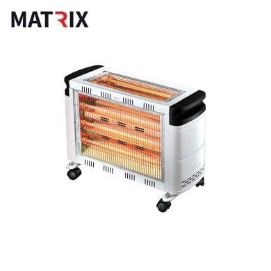 תנור חימום קוורץ 3+2 גופי חימום 2200W