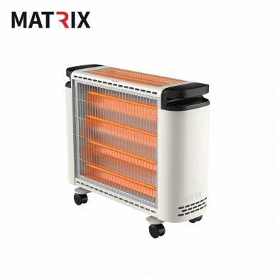 תנור חימום קוורץ 4+2 גופי חימום 2600W