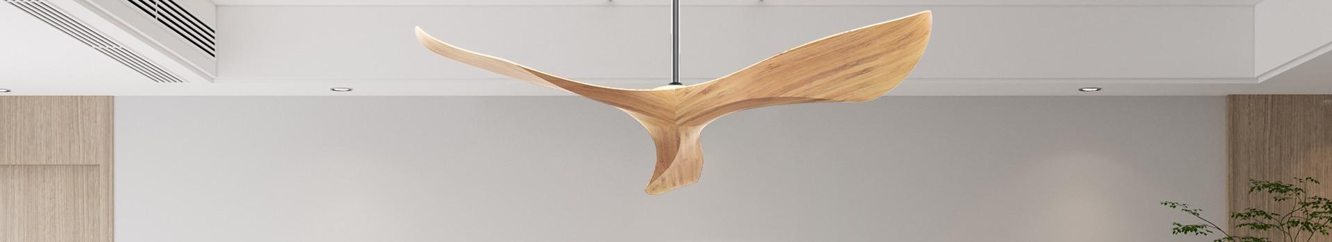 מאווררי תקרה מעץ
